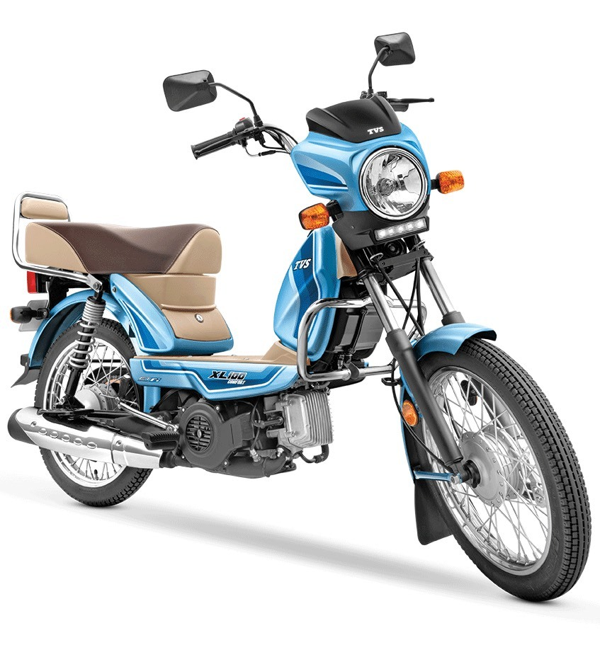 TVS XL 100 BS6 Launched; Gets New Engine