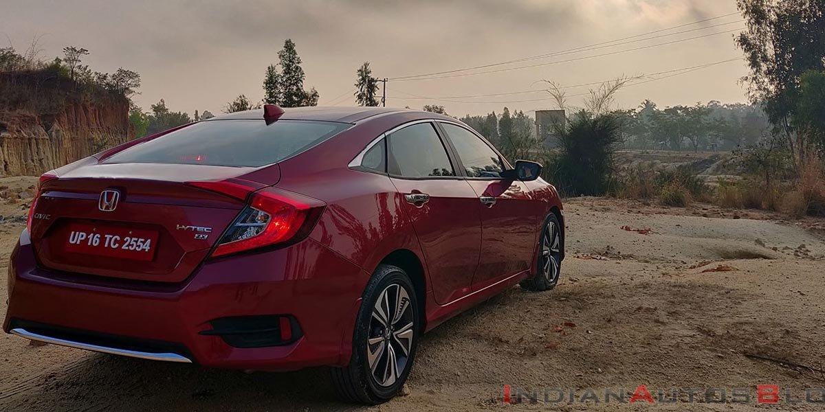 Honda Civic Diesel Variant Discontinued