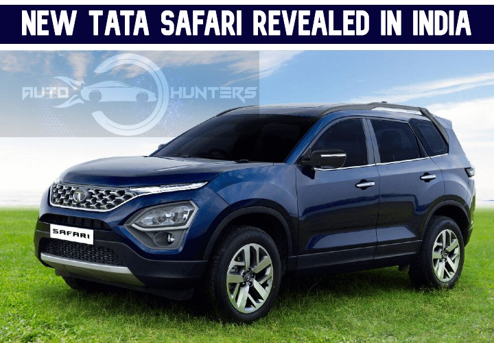 New Tata Safari 2021 Revealed In India – How Is It Different From Harrier?
