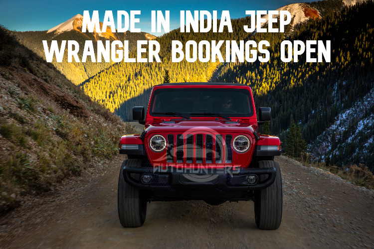 Made in India 2021 Jeep Wrangler Bookings Open- All Details