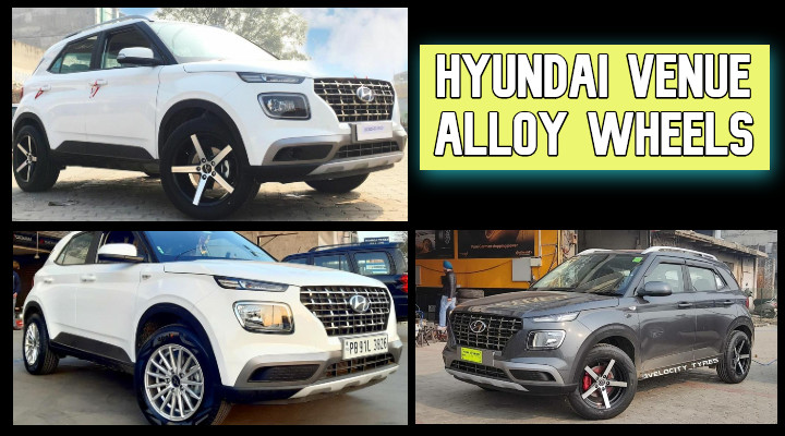 Hyundai Venue Alloy Wheels – Check Out Top 5 Best Alloy Wheel Designs!